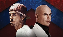Enrique Iglesias and Pitbull.