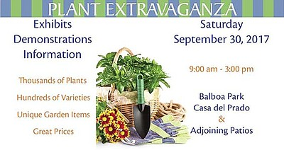 Promotional Flyer for Plant Extravaganza. Courtesy of Mas...