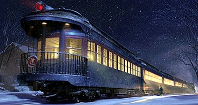 "Screen cap from ""The Polar Express."" Courtesy of Warner Bros."