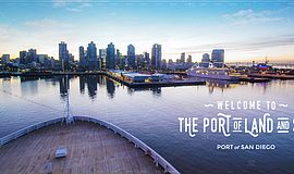 Promotional photo for the Port of San Diego.