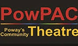 A graphic for PowPAC community theater.