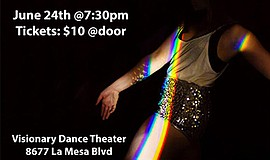 A promotional poster for Prism dance show.