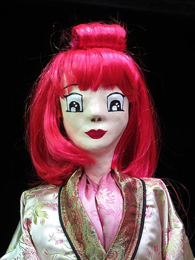 Promotional photo of puppet from previous play. Courtesy ...