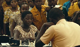 "Film still from ""Queen of Katwe."""
