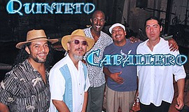 Promotional graphic for the performers. Courtesy of Quinteto Caballero.