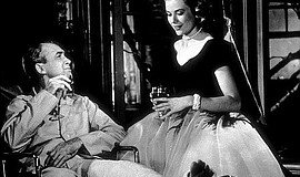 """A photo from the 1954 film """"Rear Window."""""""