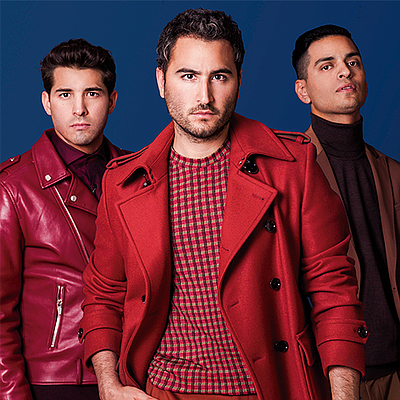 A promotional photo of the band REIK, courtesy of San Die...