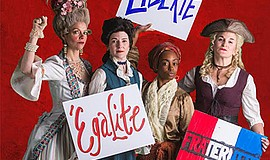 "A photo from Moxie's ""The Revolutionists."""