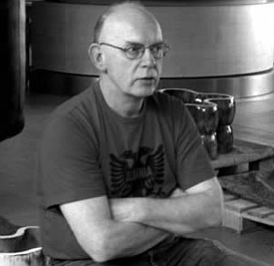 Photo of artist Richard Deacon, courtesy of C4 Gallery