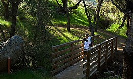 Promotional photo of the San Dieguito River Park.