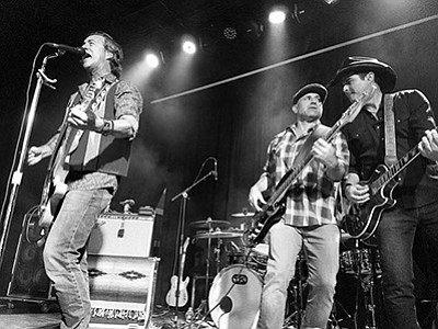 Photo of the featured artists. Courtesy of Roger Clyne & The Peacemakers.