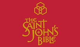 Promotional graphic for Saint John's Bible exhibit. Courtesy of San Diego Fir...
