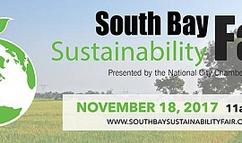 Promotional flyer for South Bay Sustainability fair. Courtesy of National Cit...
