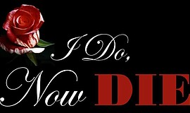 "Promotional graphic for the Valentine's Day murder mystery show, ""I Do, Now D..."