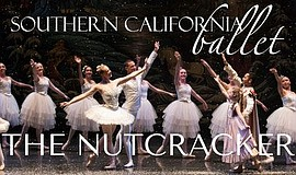 "A promotional poster for ""The Nutcracker,"" courtesy of Southern California Ba..."