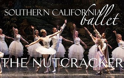 "A promotional poster for ""The Nutcracker,"" courtesy of Southern California Ballet."