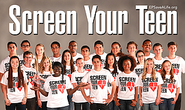 Screen Your Teen event poster.