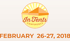 Promo graphic for 2nd Annual InTents Conference