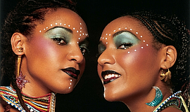 Promotional photo of Les Nubians, captured by Marc Baptiste.