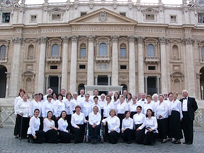 Promotional photo of San Diego Festival Chorus. Courtesy ...