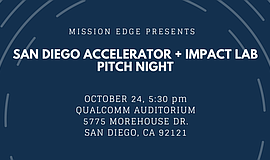 Promotional graphic courtesy of The San Diego Accelerator + Impact Lab.
