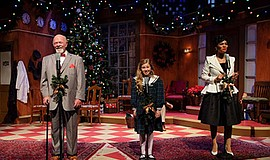 "Photo from last year's performance of ""Miracle on 34th Street."" Courtesy of S..."