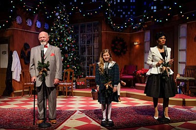 """Photo from last year's performance of """"Miracle on 34th Street."""" Courtesy of San Diego Musical Theatre."""