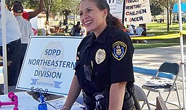 Photo from last year's safety fair. Courtesy of the Rancho Bernardo Community...
