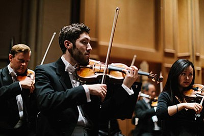 Photo of a previous San Diego Symphony performance. Court...
