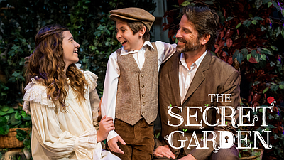 "A promotional photo from ""The Secret Garden,"" by Shaun Ha..."