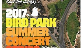 Promotional flier for the 2017 Bird Park Summer Concert Series. Courtesy of N...
