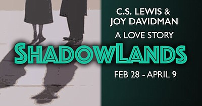"A promotional poster for Lambs' ""Shadowlands."""