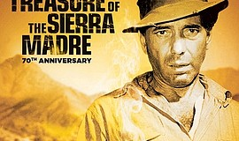 "A poster from ""The Treasure of the Sierra Madre,"" courtesy of Fat..."