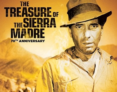 "A poster from ""The Treasure of the Sierra Madre,"" courtes..."