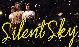 "A promotional poster for ""Silent Sky."""