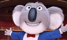 """A character from the animated movie """"Sing"""" (2016)."""