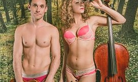 """Promotional photo of """"The Skivvies."""" Courtesy of Martinis Above Fourth 