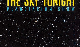 Promotional graphic for The Sky Tonight planetarium show. Courtesy of Fleet S...