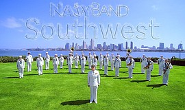 Promotional photo of Navy Band Southwest.