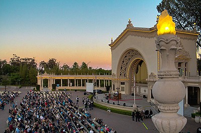 A photo of the Spreckels Organ Pavilion courtesy of the . & Carol Williams Organ Tribute To The Doors - August 28 2017 | KPBS