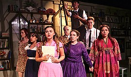 "A photo from OnStage's ""Spring Awakening."""