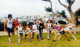 Photo runners courtesy of SpeakUp5k San Diego.