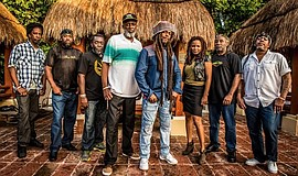 Promotional photo of Steel Pulse.