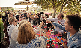 Promotional photo courtesy of the San Diego Bay Wine + Food Festival.