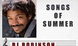 A promotional poster of Songs of Summer, courtesy of Red Spade Theater.