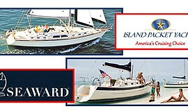 Promotional graphic for the Suncoast Yachts open house. Courtesy of Suncoast ...