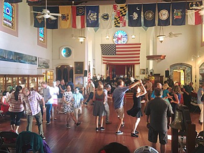 Dancing at the Veterans Museum