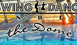 Promotional graphic for Swing Dance Under the Dome. Courtesy of Swing Dancing...