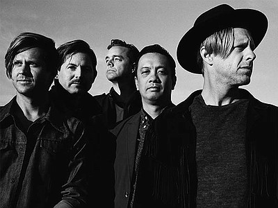 Promotional photo of Switchfoot.
