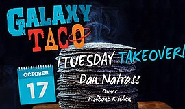 Promotional graphic for Taco Tuesday Takeover with Fishbone Kitchen. Courtesy...